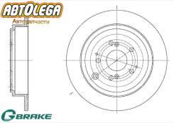 Диск тормозной задний G-brake Acura MDX 3.5L YD1 00-05