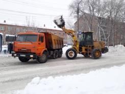 Уборка и вывоз снега Погрузчик Камаз