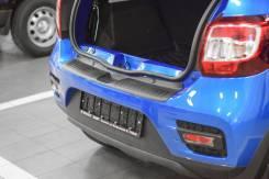 Накладка на задний бампер Renault Sandero/ Stepway c 2014