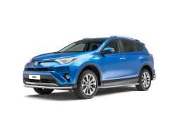 Защита переднего бампера одинарная 63мм Toyota RAV4 2013-2018