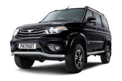 Защита переднего бампера 63мм «Волна» УАЗ Патриот с 2014