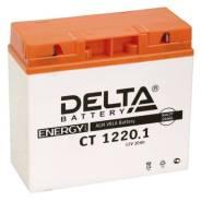 Мото аккумулятор Delta MOTO CT 1220.1 AGM YT19BL-BS (20Ач о/п) Delta