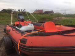 Лодка Quicksilver 430 Heavy Duty с мотором Yamaha Enduro 40
