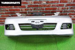 Бампер передний *AXIS* (Рестайл) Nissan Tiida JC11 [Turboparts]