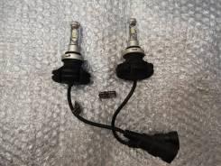 Комплект LED ламп под цоколь HB3, HB4 .