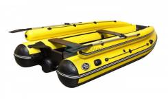 Лодка ПВХ тоннельная Allaska-390 Drive LUX