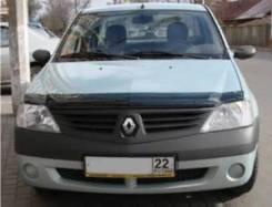 Renault Logan 2005 - 2014 SIM Дефлектор капота (Мухобойка)