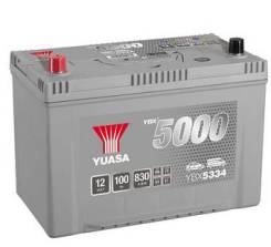 Аккумулятор Yuasa 100Ач 830А (YBX5335) D31