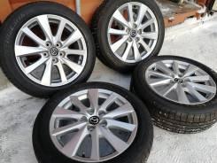 Оригинальные литые диски Mazda R17, 5/114
