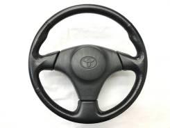 Оригинальный спортивный кожаный обод руля Toyota