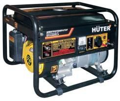 Генератор бензиновый Huter DY4000LX. 3000Вт. эл. старт. Гарантия.