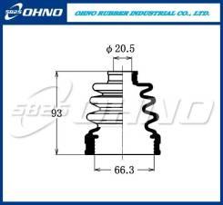 Пыльник шруса переднего внутреннего OHNO 5-825 FB2201