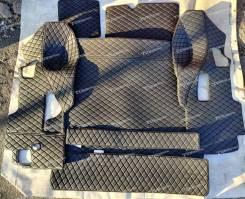 3Д Коврики в багажник Land Cruiser 200/Lexus LX570/LX450d Экокожа