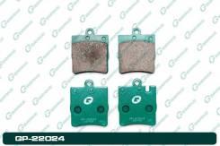 Колодки тормозные задние G-Brake GP-22024
