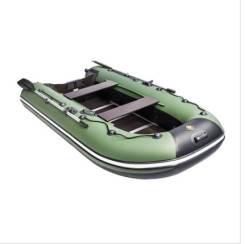 """Лодка Ривьера Компакт 2900 СК """"Касатка"""" зеленый/черный"""
