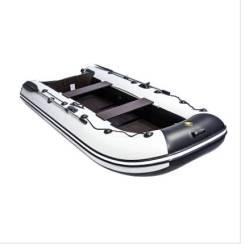 """Лодка ривьера компакт 3200 С """"касатка"""" светло-серый/черный"""