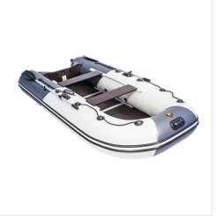 """Лодка Ривьера Компакт 3200 СК """"Комби"""" светло-серый/графит"""