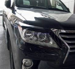 Реснички на фары Lexus LX 570 (Лексус 570) рестайлинг 2012-2015г