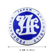 Эмблема надпись шильдик Japan Automobile Federation (JAF)