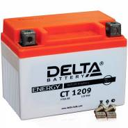 Мото аккумулятор Delta MOTO CT 1209 AGM YTX9-BS (9Ач п/п) Delta