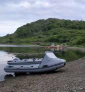 Продам Лодку ПВХ с фальшбортом и мотором Сузуки 15 на прицепе.