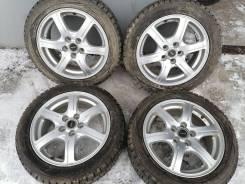 Отличные зимние шины Данлоп 185/55 R15 на литье 5/100