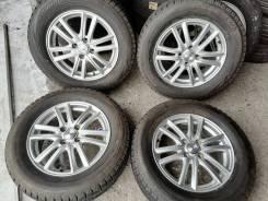 Отличные зимние шины Бриджстоун 195/65 R15 на красивом литье 4/100