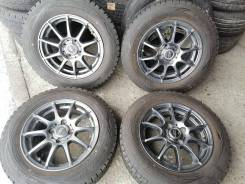 Отличные зимние шины Данлоп 175/70 R14 на красивом лёгком литье 4/100