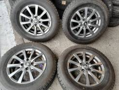 Отличные зимние шины Бриджстоун 185/70 R14 на красивом литье 4/100