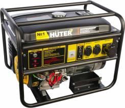 Генератор бензиновый Huter DY8000LX. 6500Вт. эл. стартер. Гарантия.