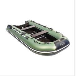 """Лодка Ривьера Компакт 3200 СК """"Касатка"""" зеленый/черный"""