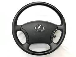 Оригинальный обод руля c черной косточкой Lexus