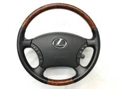Оригинальный обод руля c косточкой под дерево Lexus
