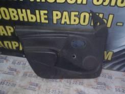 Обшивка двери передней левой Renault Logan 1 2005-2014г