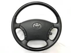 Оригинальный обод руля c черной косточкой Toyota