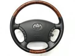 Оригинальный обод руля c косточкой под дерево Toyota