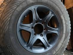 Продам комплект отличных литых дисков из Японии R16 6/139.7 Bridgeston