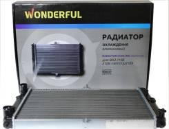 Радиатор охлаждения ДВС Wonderful 900357 Лада 2108-2115
