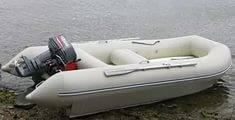 Надувная ПВХ лодка Ротан 420