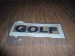 Volkswagen Golf 6 надпись GOLF новая оригинал