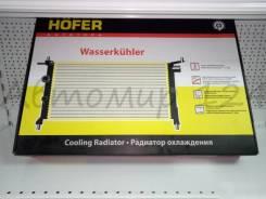 Радиатор охлаждения hofer ваз нив 2123-21213-21214