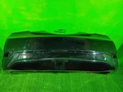 Бампер задний Hyundai Solaris 1 черный перламутр