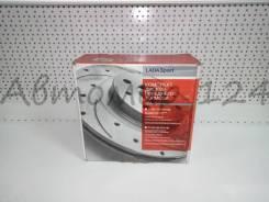 Тормозные диски лада спорт ВАЗ2110 2190 вент(. R130 перф+канавки к-т