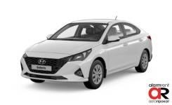 Аренда Hyundai Solaris 2020 Белый механика