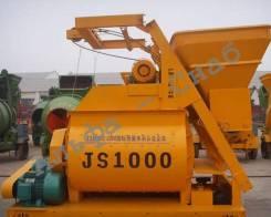Принудительный двухвальный бетоносмеситель JS1000