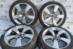 Оригинальные 18-е диски Subaru WRX STi на зиме 245/40R18 Hifly