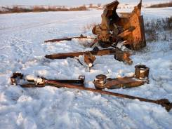 Шнекороторный снегоочиститель на дт 75