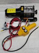 Лебедка Electric Winch 12v 2000lbs/907кг. Сталь. Доставка бесплатно.