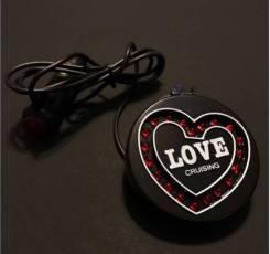 "Jdm светильник в салон "" love cruising"""