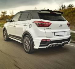 Задний спойлер ZEUS на Hyundai Creta (Хендай Крета) 2015г-выше